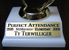 Post image for Do You Have Perfect Attendance?