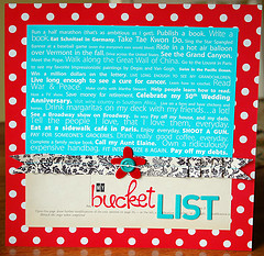 Why I don't Have a Bucket List