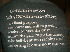 Post image for Determination Beats Everything Else!