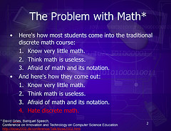 Math Is the Answer!