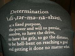 Determination Beats Everything Else!
